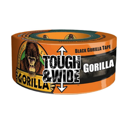 Gorilla Tape Tough & Wide Black 73mm x 27m