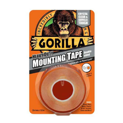 Gorilla Heavy Duty Mounting Tape 25,4mm x 1,52m oboustranná lepící páska