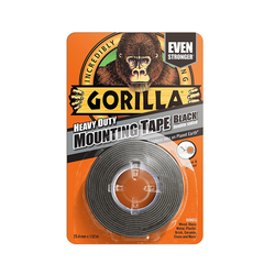 Gorilla Heavy Duty Mounting Tape 25,4mm x 1,52m Black