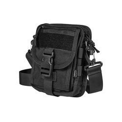 Micro Shoulder Bag type EDC, black
