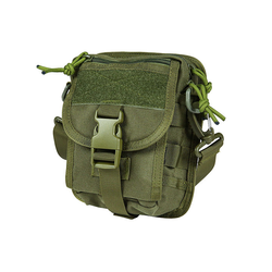 Micro Shoulder Bag type EDC, olive