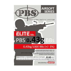 BB PBS Elite 0,43g 1000ks