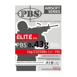 BB PBS Elite 0,43g 2325ks (1kg)