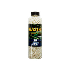 Blaster Tracer 0,20g Airsoft BB in green color -3300 pcs. in bottle