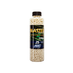Blaster Tracer 0,25g Airsoft BB in green color -3300 pcs. in bottle