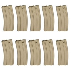 Magazine, AEG M15/M16, 85 rounds, tan - 10ks