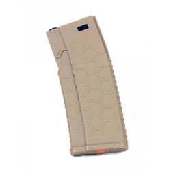 Magazine 120rds type HEX for M4/AR15, tan