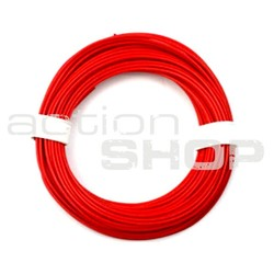 Power cable 1,5mm Cu/silicon 1m, red