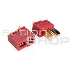 Connector DEAN-T - gold finish - 1 pair