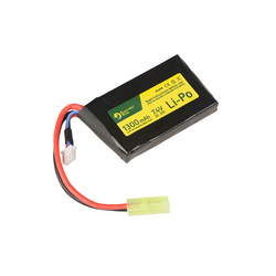 ER Battery LiPo 7,4V 1300mAh 20/40C for AN/PEQ-16