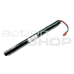 Battery XCELL 9,6V 1300mAh NiMH stick DEAN T connector