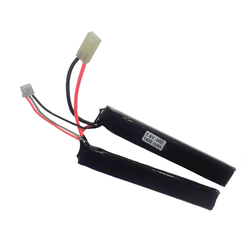 LiPo Battery 7,4V 1400mAh, 15/25C 2-piece