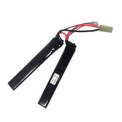 LiPo Battery 7,4V 2000mAh, 15/25C 2-piece