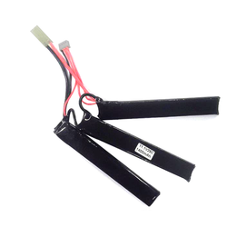 LiPo Battery 11,1V 1400mAh, 15/25C 3-piece