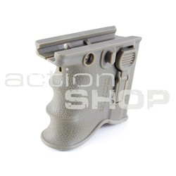 M16 Quick Release Front Grip Mag Adapter Kit DE