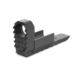 WE Flash hider with the lower RIS mount for WE Hi-Capa