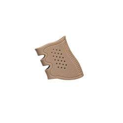 Antiskid Rubber Grip for Glock, tan