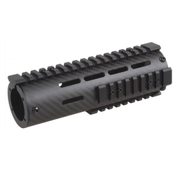 "Carbon Fiber Key Mod Free Float 7"" Handguard"