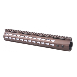 "KeyMod Free Float 12"" Slim Handguard Burnt Bronze"