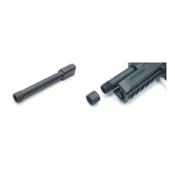 ASG Threaded metal outer barrel, for CZ P-09