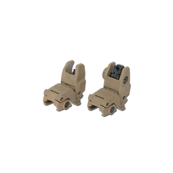 Backup sights type MBUS GEN 2, tan