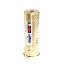 12 GA Cartridge Red Laser Bore Sight