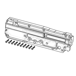 CNC gearbox for M249/PKM - QSC