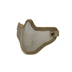 UT Metal Mesh Face Mask - Tan