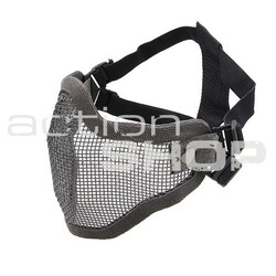 UT Metal Mesh Face Mask - Gray