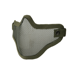 Face Mask metal mesh, Olive