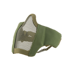 Face mask metal mesh Stalker Evo, for FAST helmet, olive