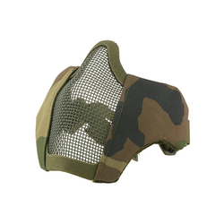 Face mask metal mesh Stalker Evo, for FAST helmet, woodland