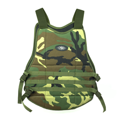 PBS Molle Chest Protector (Woodland)