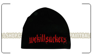 Bunker Kings Thin Beanie WKS Red