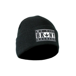 Beanie Bunkerkings BKNY Folded / Black