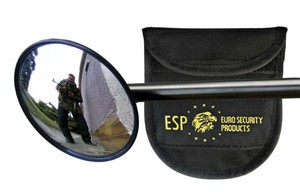 M-2 Tactical mirror for baton (diameter 71 mm) W/pouch (dříve 701005)