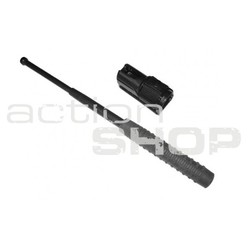 "Telescopic baton 16"" / 405 mm hardened - black + free sheat"
