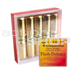 Náboje 9mm PA Flash defense (10ks)