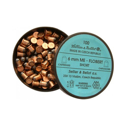 6mm FLOBERT ME SHORT, packing 100ks