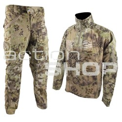 EMERSON Riot Style Tactical Uniform Set M Kryptek Highlander Camo