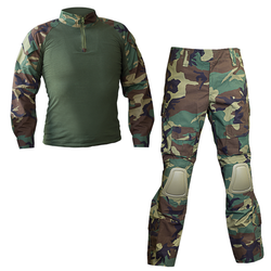 SA Combat Uniform w/ pads, woodland
