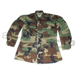 US Field jacket BDU Woodland used  (no patches)