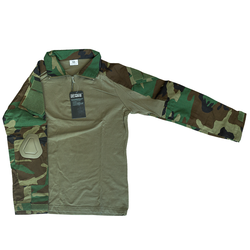 SA Tactical Cool Shirt Woodland