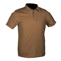 "Triko taktické ""POLO"" Quickdry, dark tan"