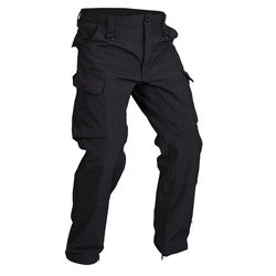 "Mil-Tec Trousers Softshell ""Explorer"", Black"