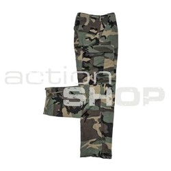 US BDU Field Pants, Woodland