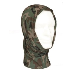Mil-Tec Multi Function Headgear, Woodland