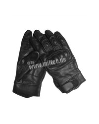 Mil-Tec Tactical Leather Gloves black