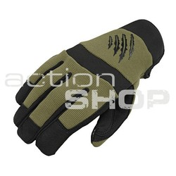 Tactical Gloves Armored Claw Shooter OD