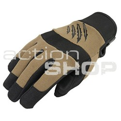 Tactical Gloves Armored Claw Shooter Tan